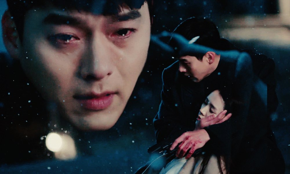 """""""jeong hyeok, to be honest, what you had told me, was enough for me. i got to enjoy the happiness that was given to me...""""  — yoon se-ri. 🥀   #crashlandingonyou • #hyunbin • #sonyejin"""