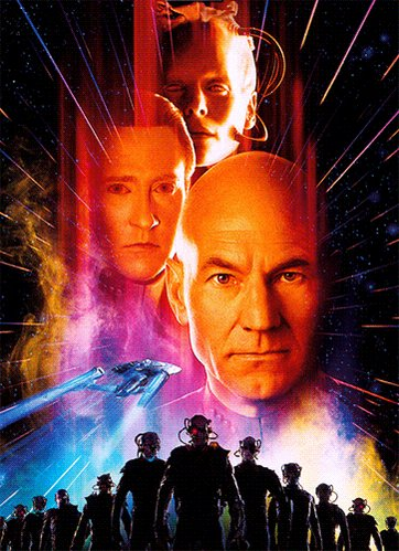 """Happy future """"First Contact Day"""" everyone!! 😃🖖🏻#LLAP   (Watching @StarTrek First Contact)"""