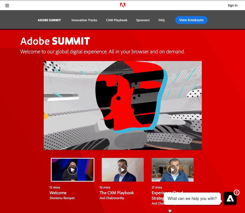 sammireinstein: Check out that bottom right-hand corner ;) #AdobeSummit ⚡️⚡️⚡️@Drift https://t.co/fjbVuxjfDP