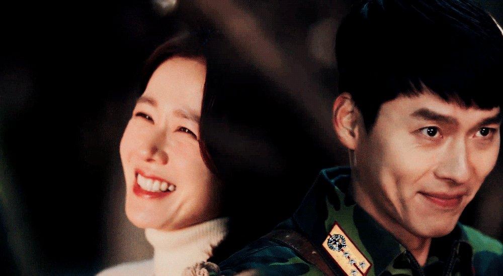 oooh the flirt 🥰🐣  #crashlandingonyou • #hyunbin • #sonyejin