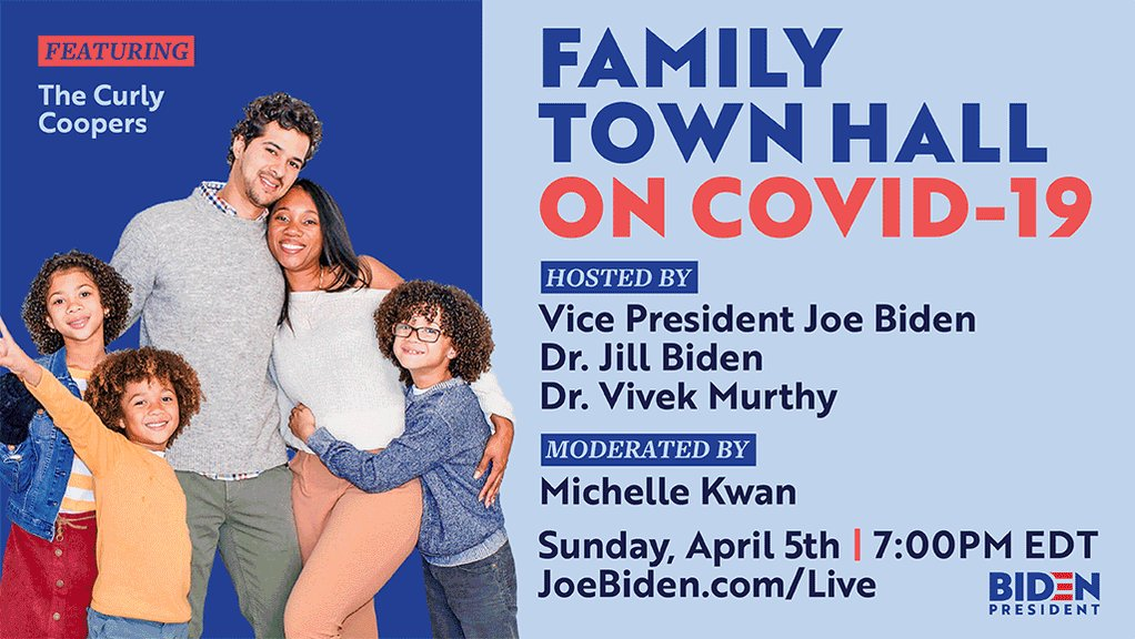 Jill and I had the pleasure of hosting a town hall with family vloggers ItsJudysLife, The Curly Coopers, and JHouse Vlogs where we answered their questions about the COVID-19 outbreak.  Tune in to the premiere on Sunday at 7PM ET: