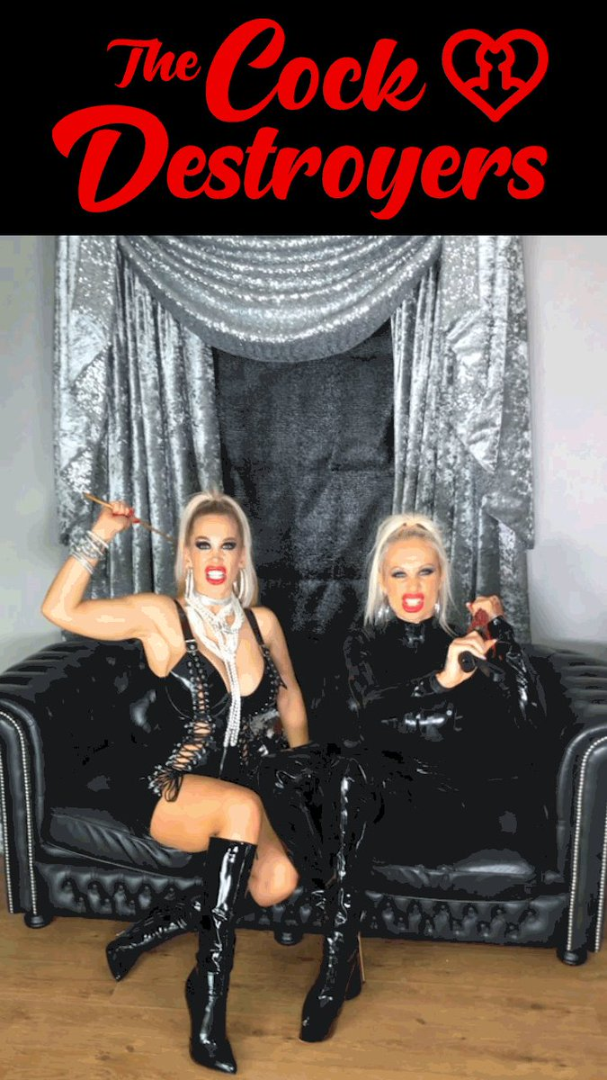 @SophieASlut and I want to know if you've got what it takes!  #thecockdestroyers #letsdestroythem