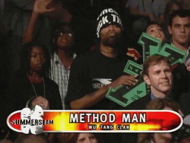 .@methodman repping DX at SummerSlam 1998