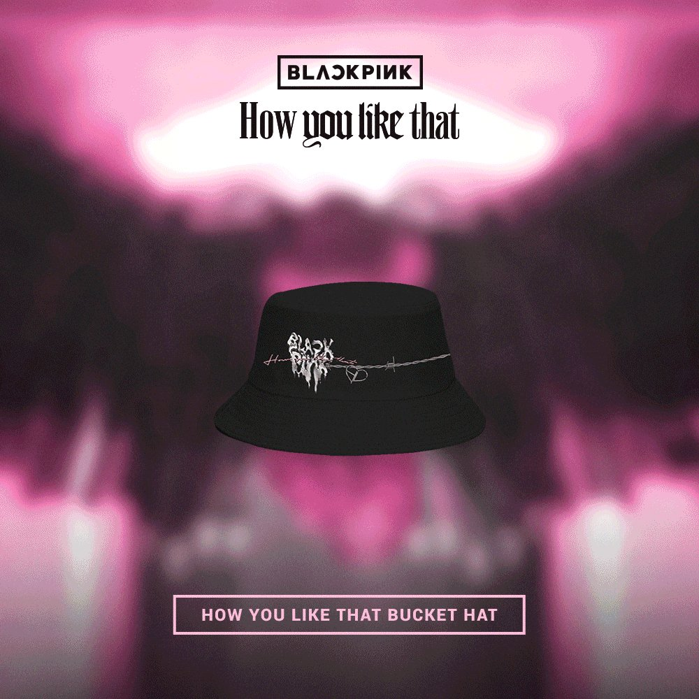 'How You Like That' CD + merch available now in the official #BLACKPINK store