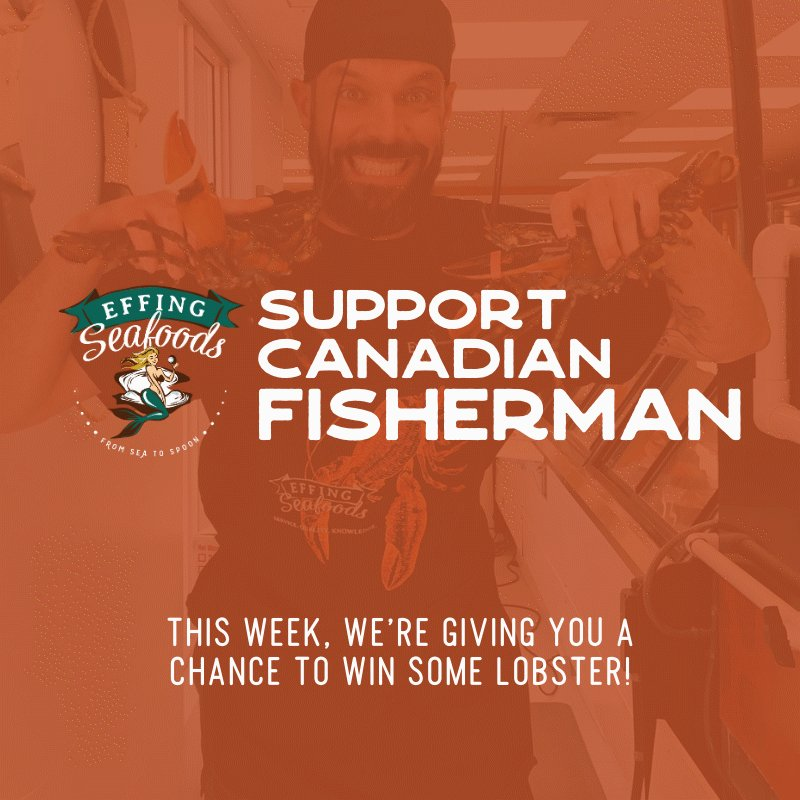 As small token of our appreciation for you all for supporting us and keeping us ALIVE, we're running some GIVEAWAYS to support #CanadianFishermen. They need us right now just like I need all of you.   RT this post for a chance to win EIGHT JUICY 1LB LOBSTERS!!!   #Yeg #YegFood
