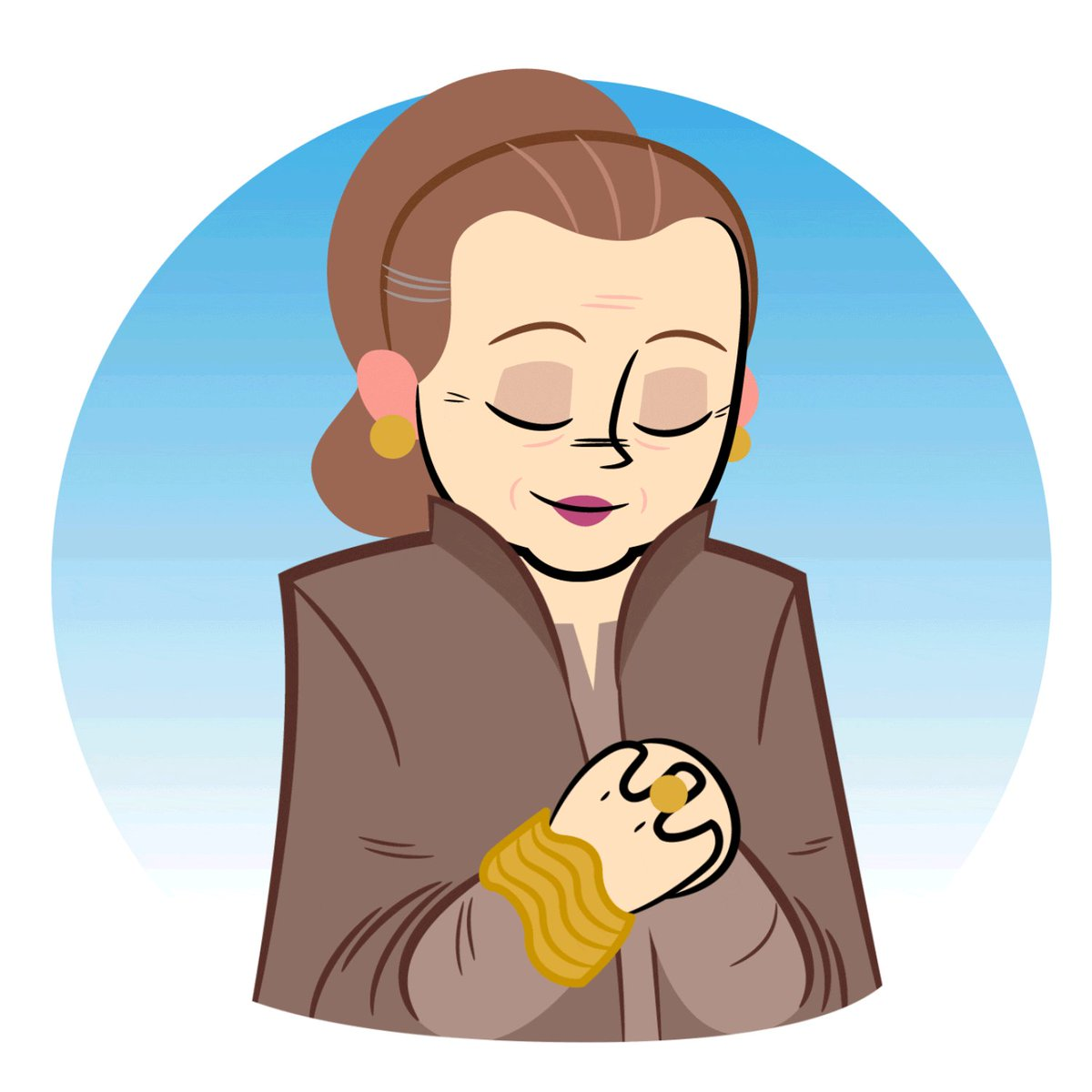 today make general leia proud. keep trying and be kind.