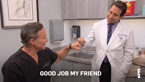 Reminder that you're doing great! #Botched