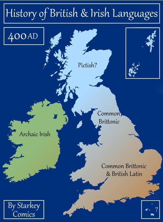 """The word """"Wales"""" reveals the origins of Britain, and a gnawing history of Anglo-Saxon oppression…  It was used by invading tribes to mean 'foreigners' or 'outsiders,' despite Brythonic peoples (latterly Welsh, Cornish, Cumbrian, Breton) being native to these isles.  THREAD 👇"""