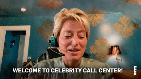 We are so excited to have you, @DorindaMedley! 💕 #CelebrityCallCenter