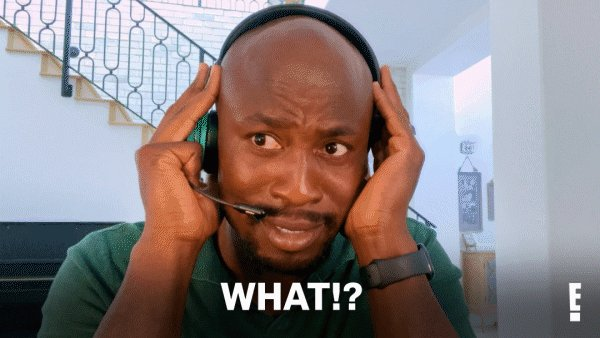 My reaction when I hear you didn't watch #CelebrityCallCenter last night. Catch up now: