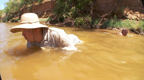On This Day In #CONAN History: @AndyRichter ventured to Oklahoma to go hillbilly handfishin'.