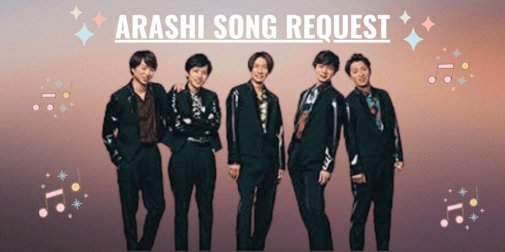 Hello #ARASHI fans! ❤️💛💚💜💙 Please use this post to make your song request for this weeks #OKAsia 🎧