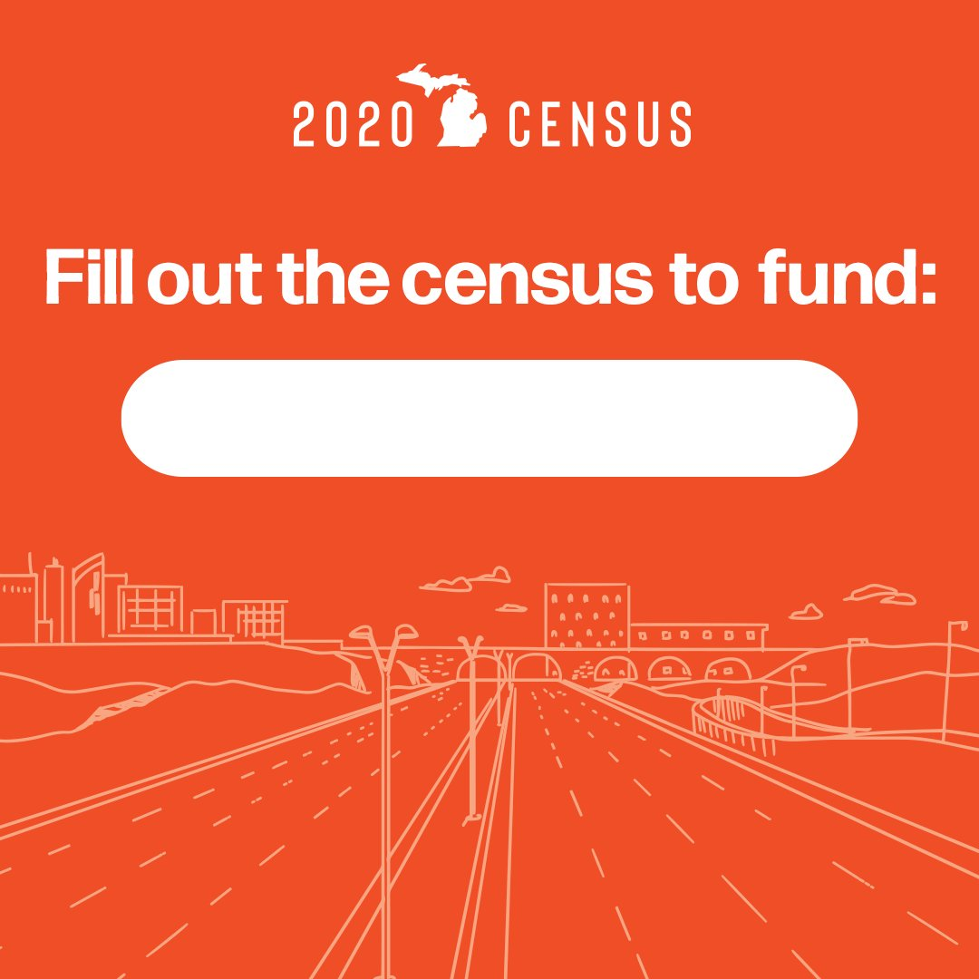 Help make the #2020Census as accurate as possible and #BeCounted. More people counted means more funding for community programs, road repairs, public transport and more! Visit  to get started. #CountMeIn