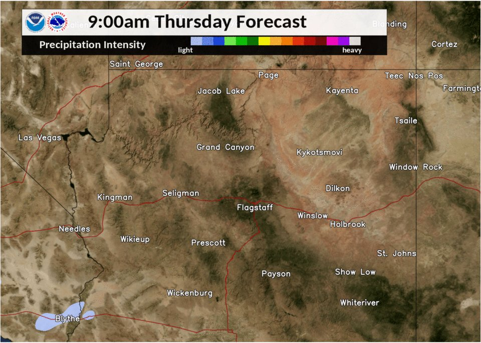 Here's a model radar forecast showing how storms could develop as we head into the afternoon today. Fingers crossed everybody! #azwx