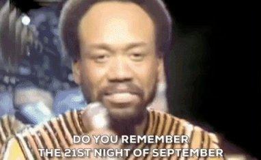 Almost forgot...but I remembered.  #September #DoYouRemember #DoYouRememberThe21stNightOfSeptember @EarthWindFire