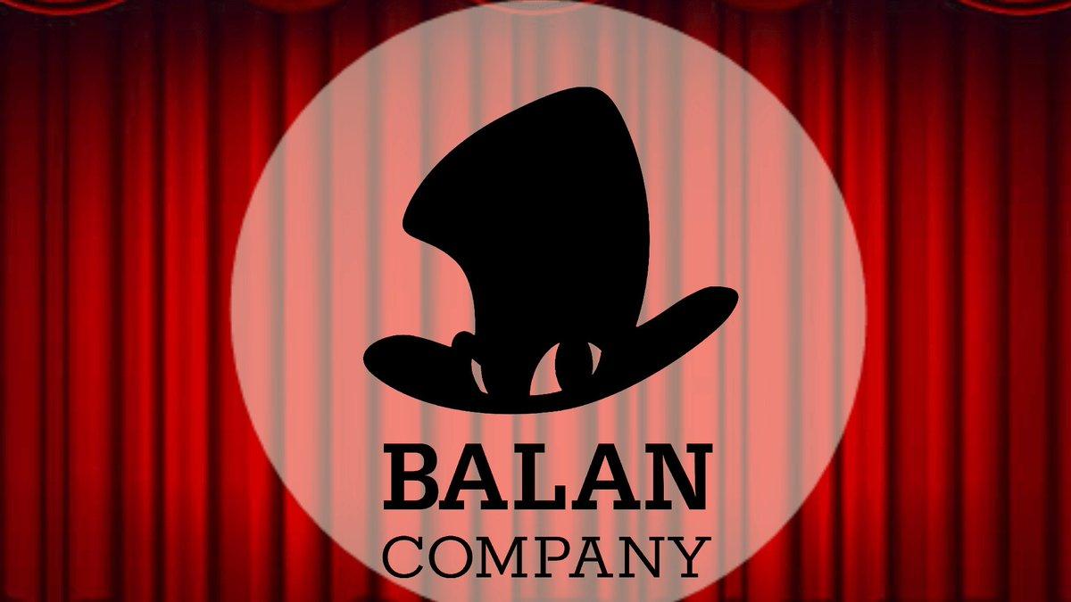 I animated Balan Co. Logo!! #BalanWonderworld