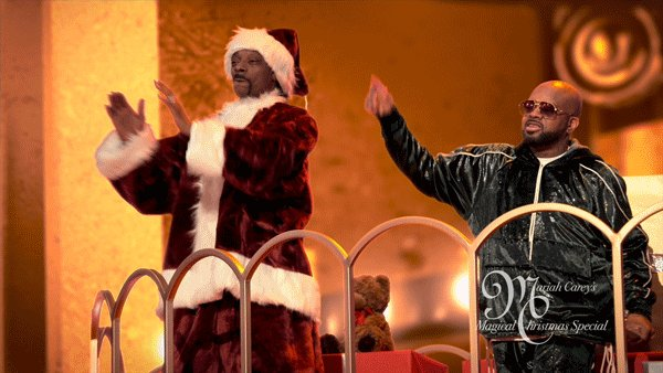 .@SnoopDogg and @JermaineDupri are the hype-men we all need in 2020. #MariahsMagicalChristmas https://t.co/XdJtT6n1MN