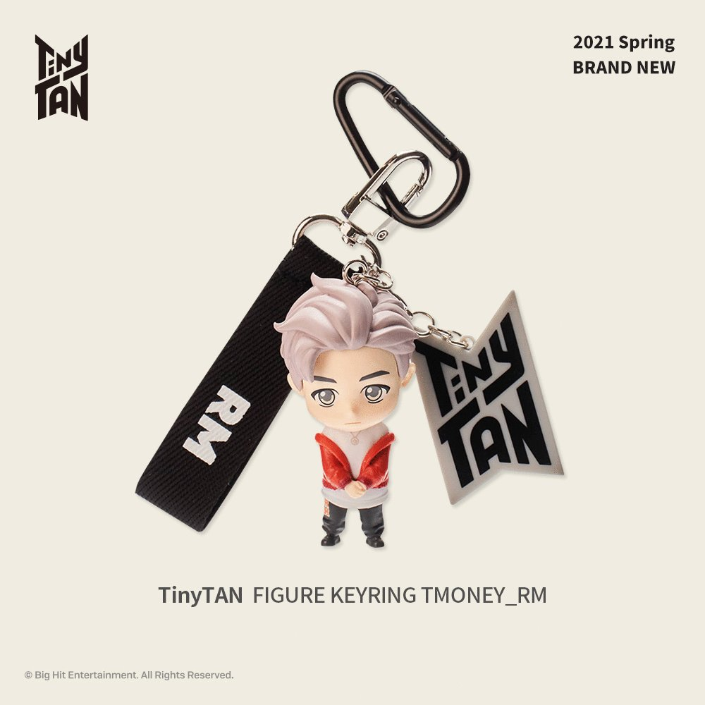 Cute TinyTAN into my daily life🎵 Let's welcome the new spring with TinyTAN Figure Keyring T-money.💜  2021 Brand new, Now Available on  & Weverse Shop  #TinyTAN #TinyTANKeyring #TinyTANFigure #TinyTANdolls #FANTAOLAB #타이니탄 #타이니탄피규어키링 #판타오랩