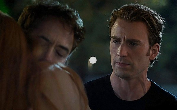 but srsly what was cevans thinking when they film this scene why he looked so jealous and regretful pls
