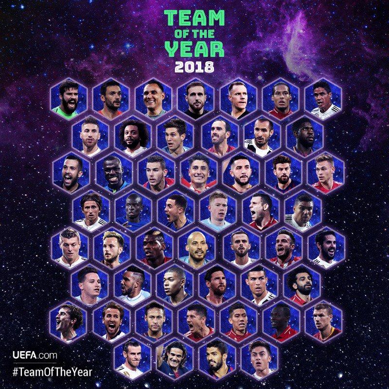 Onze UEFA 2018