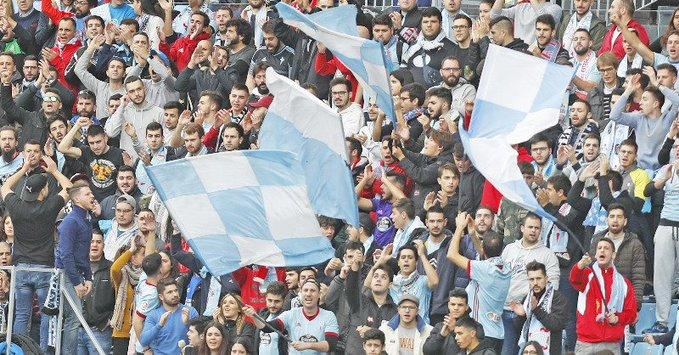 Aficionados del Celta (Foto: RCCV).