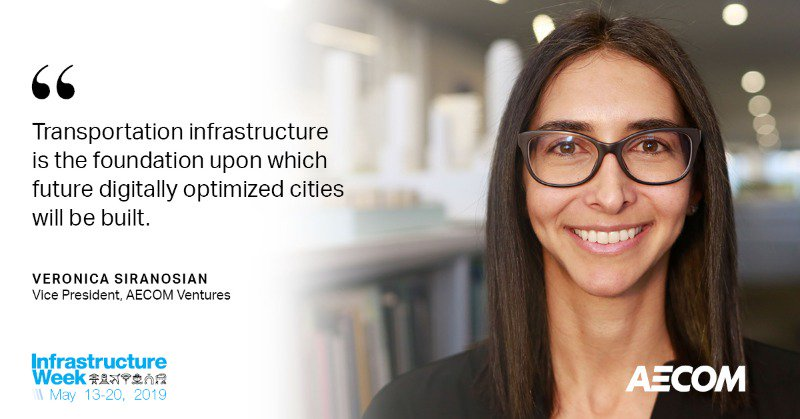 Infrastructure AECOM Vice President woman