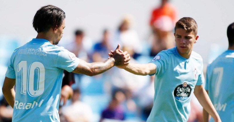 Sergio Carreira, durante un partido con el Celta B (Foto: RCCV).