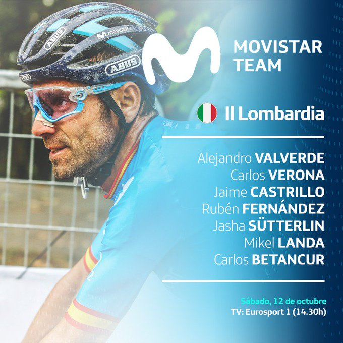 Nairo Quintana último Movistar Team