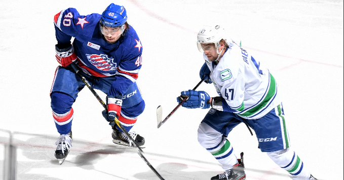 Amerks open homestand with 3-2 win over Comets