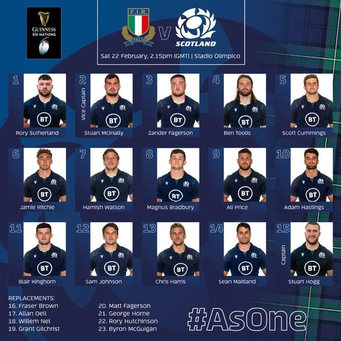 Italy v Scotland Saturday 22nd February 2020 NjaaHnef?format=jpg&name=small