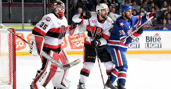 Senators rally in third, top Amerks in overtime