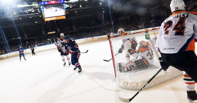 Amerks down Phantoms for 3-2 win in overtime