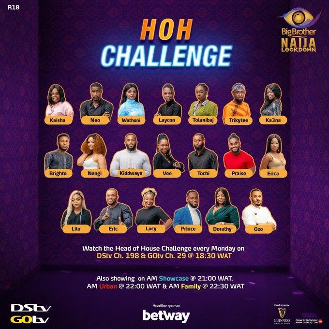 BBNaija 2020 Season 5: Nengi wins Head of House Challenge
