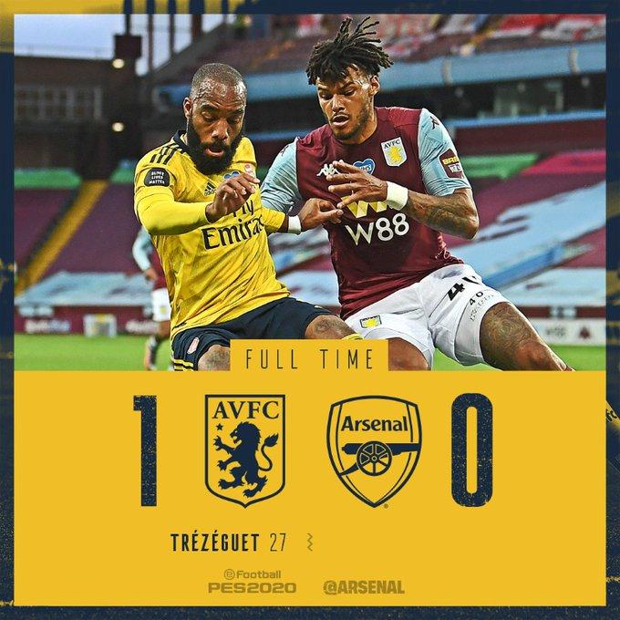 Aston Villa vs Arsenal 1-0 Download