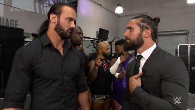 Problemas entre el Campeón y el Mesías durante Monday Night RAW.