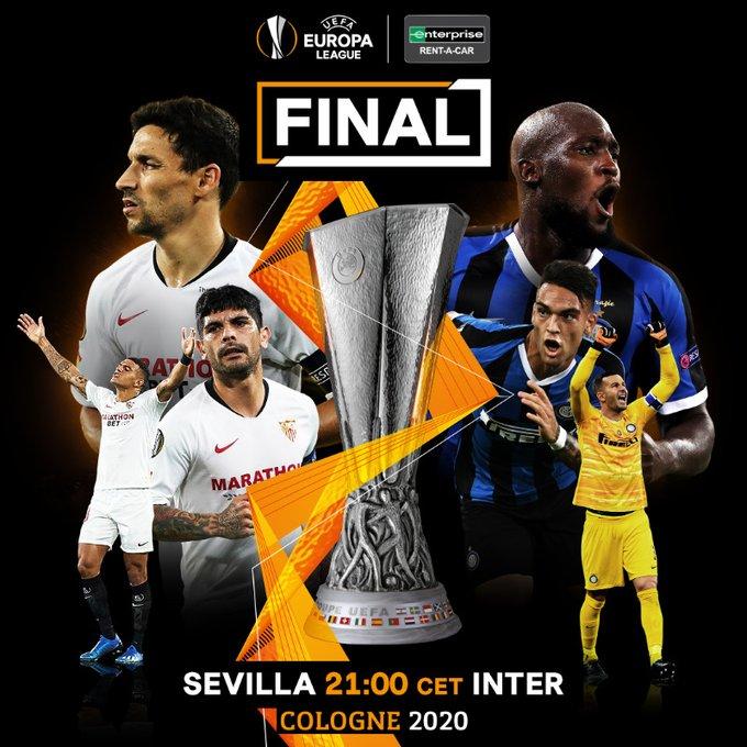Sevilla vs Inter Milan final Liga Europa