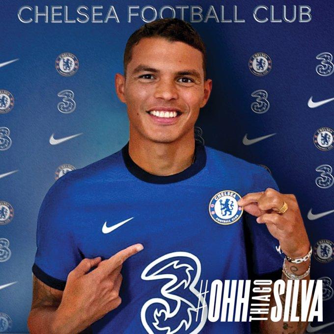 Mercato : Thiago Silva s'engage avec Chelsea !