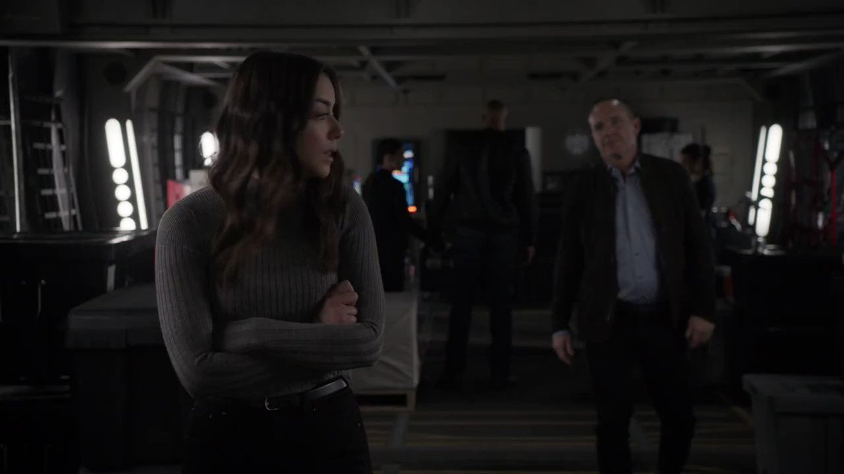 Daisy and Coulson are just out here breaking our hearts. 😭💔 #AgentsofSHIELD