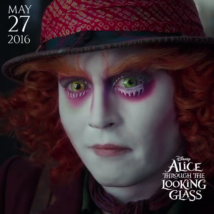 A dream is not reality... But who's to say which is which? Happy anniversary #AliceThroughTheLookingGlass