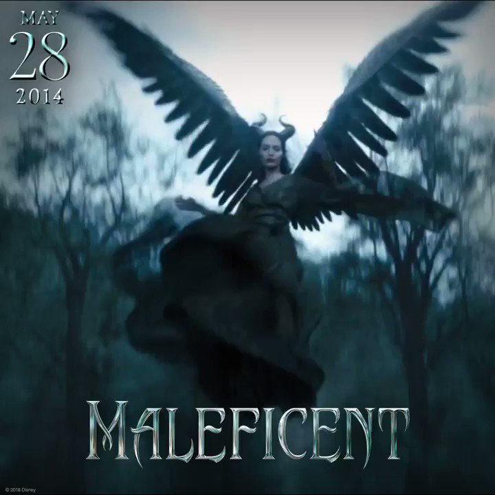 Feel the force of evil… The 4th anniversary of #Maleficent has landed.