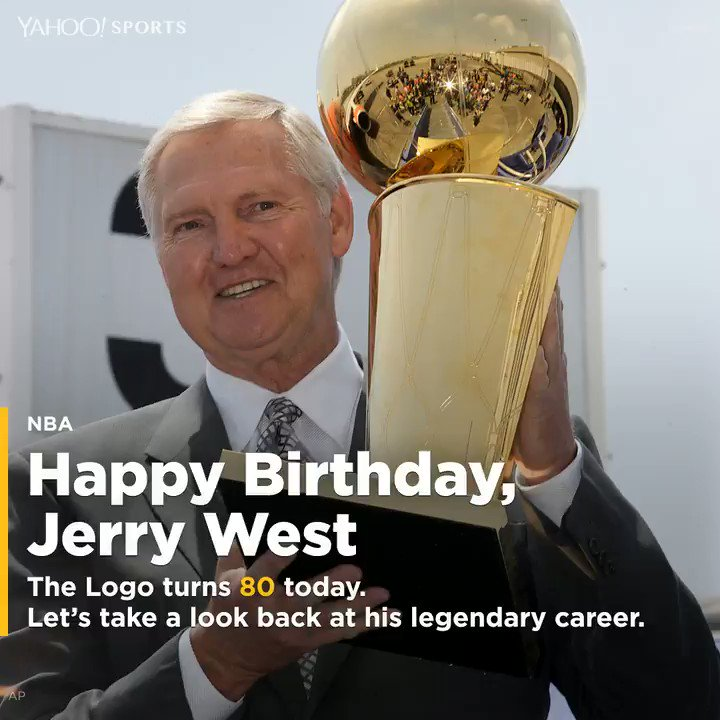 Happy 80th birthday, Jerry West!