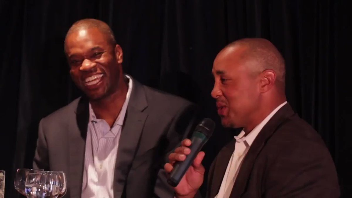 Flashback: @StarksTheDunk breaks down his infamous rivalry and scuffles with @ReggieMillerTNT during the #Knicks vs. #Pacers games. @Espnantoniod #NBA