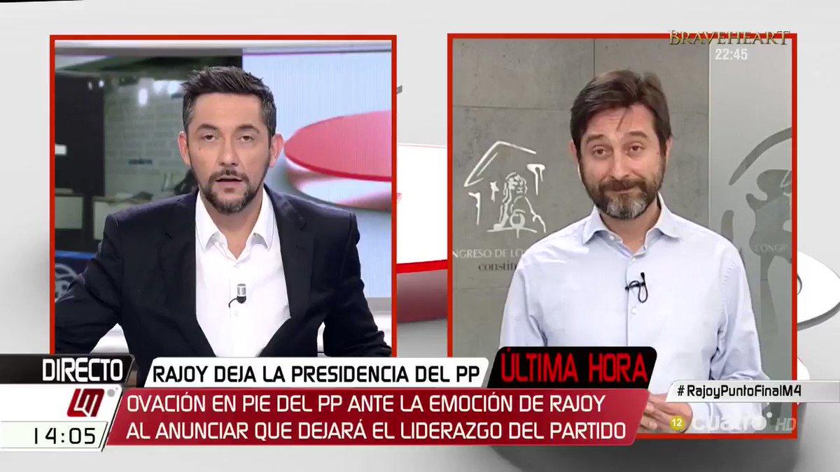 📽 'A Rajoy lo ha echado la mayoría social de este país' @MayoralRafa #RajoyPuntoFinalM4