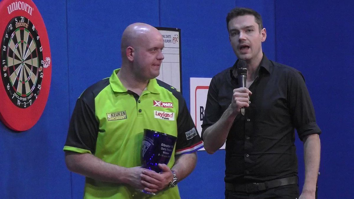 Ive earned a good holiday now Michael van Gerwen secured his 25th European Tour title yesterday with victory in the Gibraltar Darts Trophy. Hear from the winner @MvG180 as he speaks to @DanDartsDawson