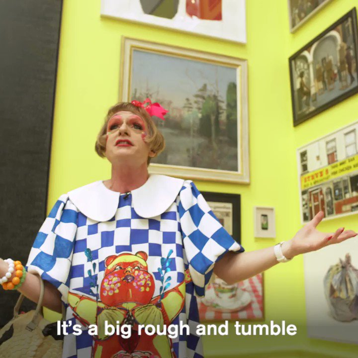 """RT @royalacademy """"There's not a show like this in the world"""" - take a look inside this year's Summer Exhibition with coordinator Grayson Perry RA as he picks out some of his highlights: https://t.co/gLzq6oSFVb #RASummer #RA250"""