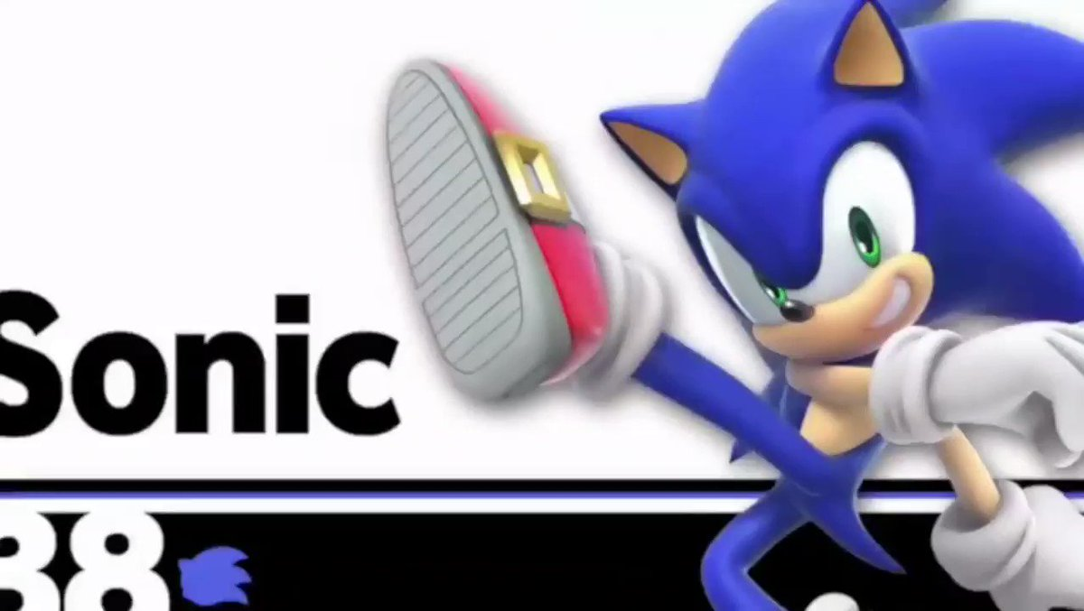 Here's a brief look at Sonic in #SuperSmashBrosUltimate! #E32018