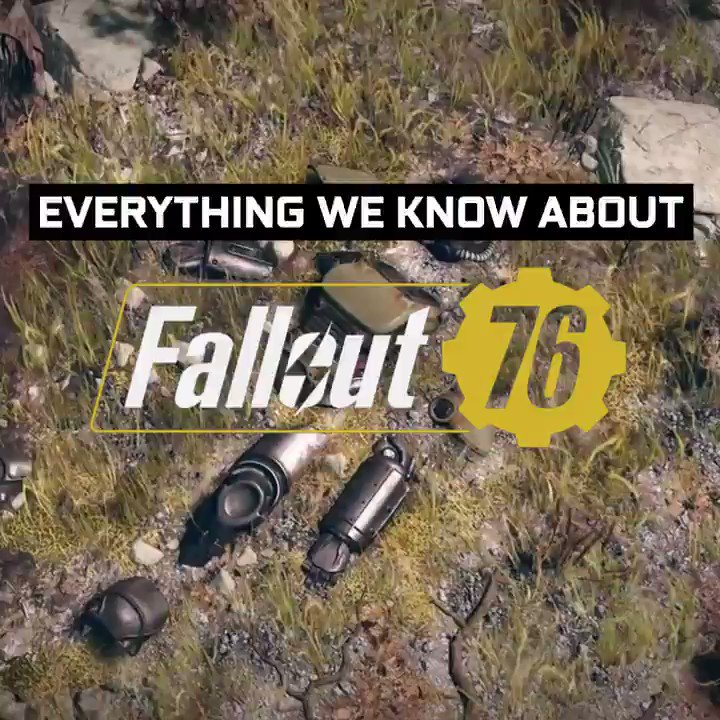 Weve got the details on Fallout 76 for you! ⬇️⬇️⬇️