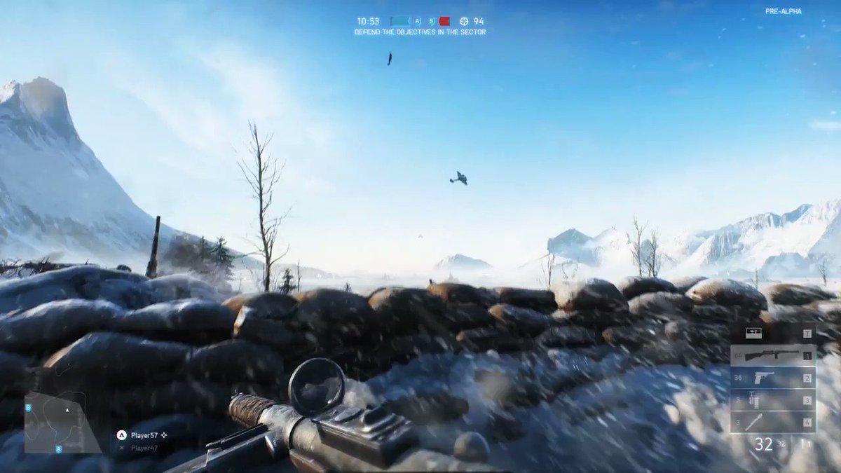 New @Battlefield V multiplayer gameplay! #GameReady #E32018