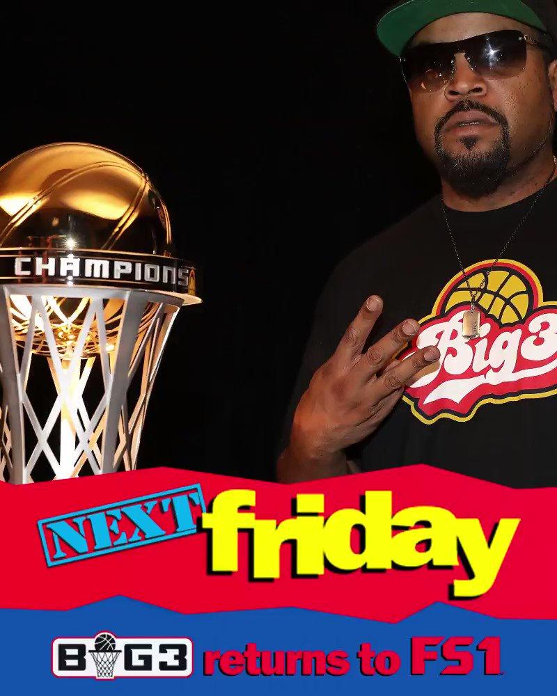 Next Friday... @thebig3 is back 🙌 YAY YAY