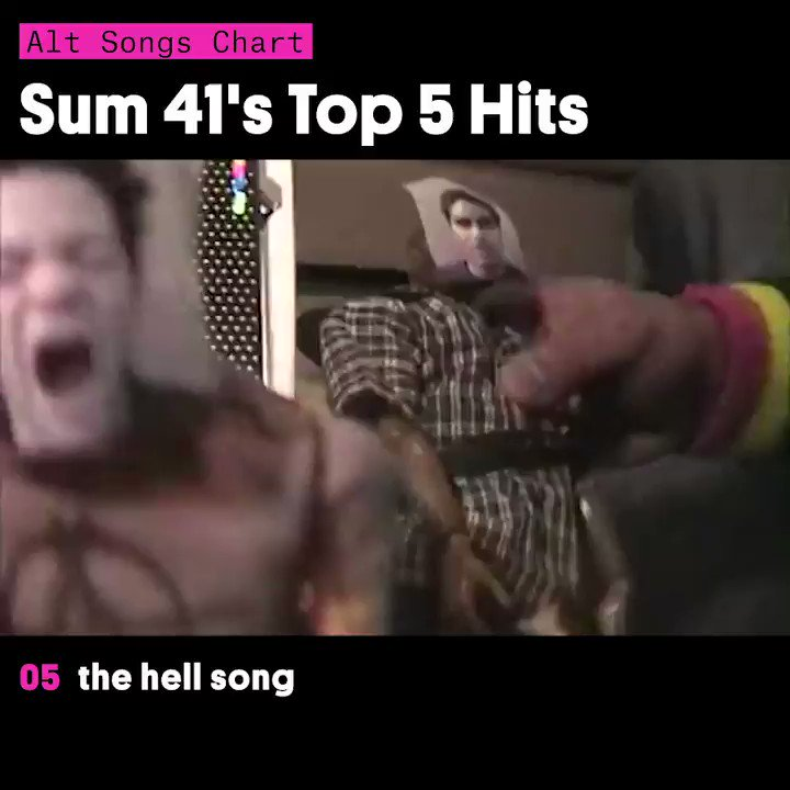 We're in too deep with these @Sum41 hits
